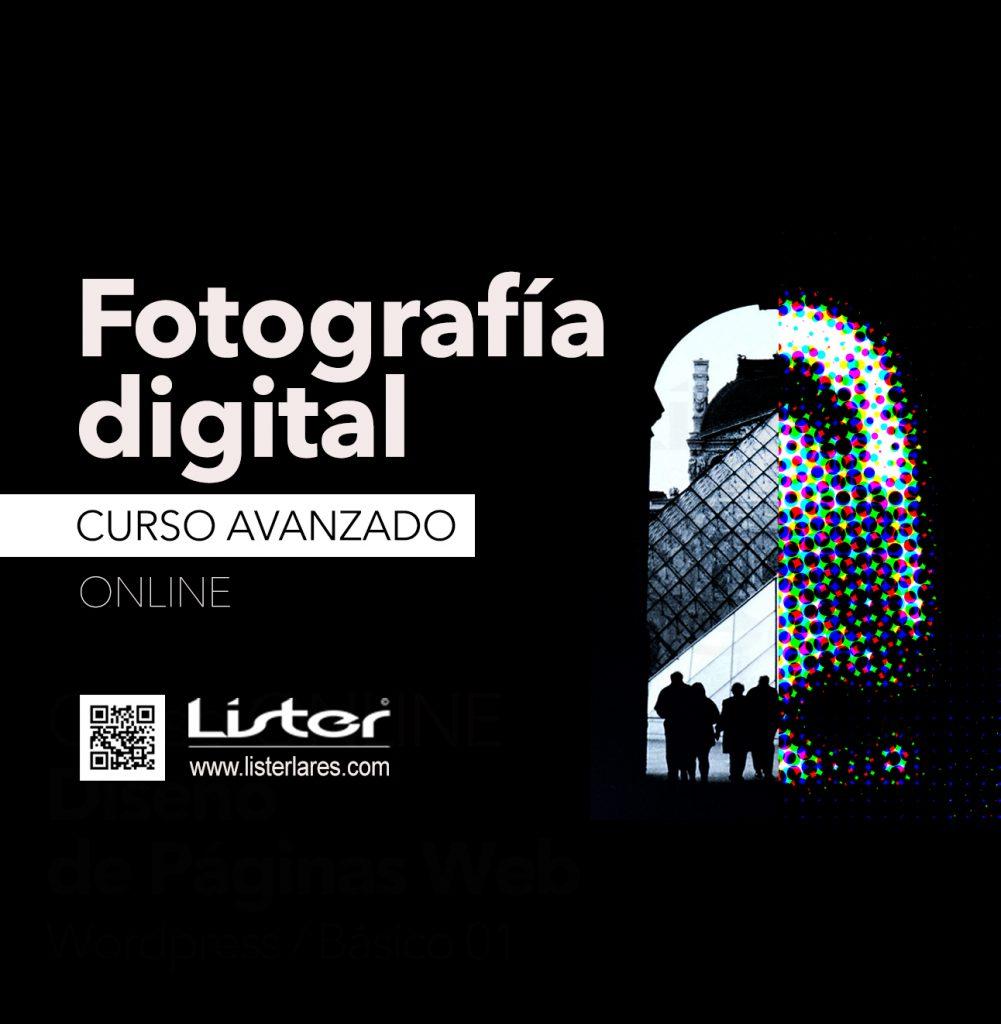 Curso de fotografía digital avanzado ONLINE